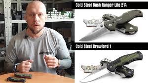 видеонайфи <b>Cold Steel</b> Bush Ranger Lite + <b>Crawford</b> 1 - YouTube
