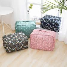 3Pcs <b>Travel Bag Waterproof Nylon Packing Cubes Luggage</b> ...