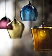 hand blown glass pendant lighting blown glass pendant lighting