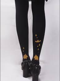 <b>Rabbit's</b> Halloween Series <b>Golden Printing Black</b> Gothic Lolita ...
