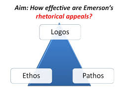 do now  which essay has the more effective argument self  aim how effective are emersons rhetorical appeals logosethospathos