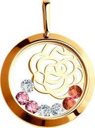 <b>Кулоны</b>, <b>Подвески</b>, <b>Медальоны Sokolov</b> 035076_S, Подарки ...
