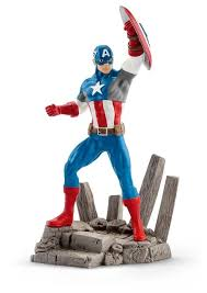 Фигурка <b>Schleich Капитан Америка</b> 21503/12013 — купить по ...