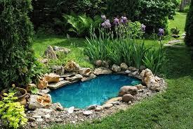 Small Picture Small Garden Pond Design Ideas Markcastroco