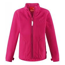 <b>Куртка флисовая Reima</b> 526267-3560 для девочки, цвет розовый ...
