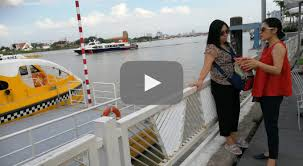 Video: <b>Wading</b> through Saigon River on water bus - The Jakarta Post