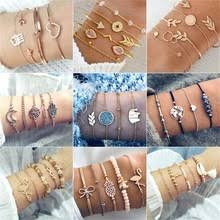 30 стилей, <b>женский браслет в</b> ретро стиле, с кристаллами, в ...