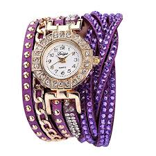 Prosperveil <b>Duoya</b> Women Brand <b>Crystal Rhinestone</b> Bracelet ...