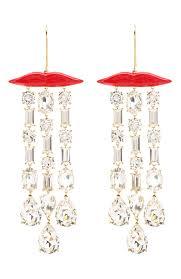 Женские золотые <b>серьги с</b> отделкой кристаллами swarovski <b>ESHVI</b>