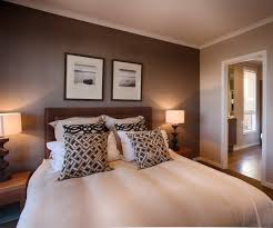 master bedroom feature wall: beautiful feature wall colour in this master bedroom i love the different shades of brown throughout the room bedroom retreats pinterest beautiful