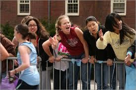 Image result for wellesley college boston marathon