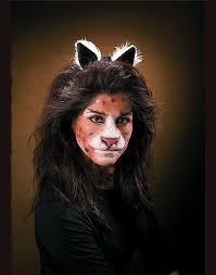 reel f x prosthetic latex cat nose lion face makeup kit
