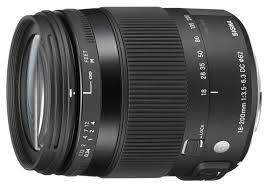 <b>Объектив Sigma AF</b> 18-200mm f/3.5-6.3 DC Macro OS HSM ...