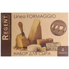 <b>Набор</b> для <b>сыра Regent</b> Inox Linea <b>Formaggio</b> 4 предмета - купить ...