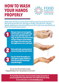 foodsafety asn au over a third of ns risk food ns urged to put up new handwashing posters for global handwashing day 15 2016 n food safety