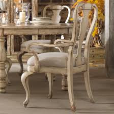 Distressed Dining Room Chairs Hooker Furniture Wakefield Round Leg Dining Table With Expandable
