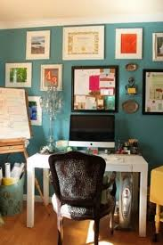 fancy turquoise home office best colors for home office