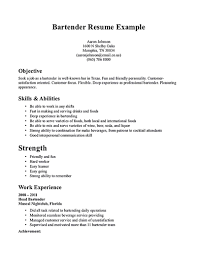 review and revise your bartender resume    resume bartender resume writter