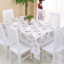 rectangular dining table cover cloth knitted vintage: rural style tablecloth  in x  in rectangle   chairs