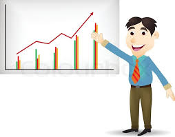 Image result for caricature of a man making a detailed presentation