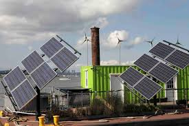 Image result for picture solar, wind energy