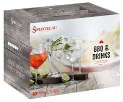 Купить <b>Spiegelau Набор</b> бокалов <b>BBQ</b> And Drinks Gin & Tonic Set ...