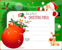christmas invitation template   christmas party invitations templates printables quotes
