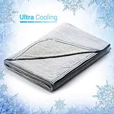Revolutionary Cooling Blanket Absorbs Body Heat to Keep <b>Adults</b>