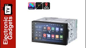 <b>7</b> Inch 2 DIN <b>Android</b> 7.1 <b>Car Stereo</b> / HD Car DVD Player with GPS ...