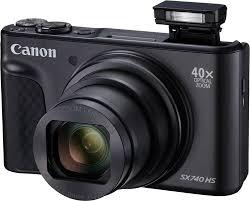 Купить цифровой <b>фотоаппарат Canon PowerShot SX740</b> HS ...