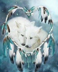 <b>DIY</b> Paste <b>White Wolf</b> Pattern 3d Mosaic <b>Diamond</b> Painting Cross ...
