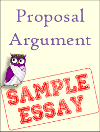 sample proposal argument – excelsior college owl proposal argument sample essay thumbnail