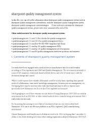 sharepoint quality management system docx pdf scribd sharepoint quality management system docx pdf scribd com