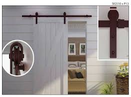 Closet Barn Doors Alluring How To Install Barn Door Closet Doors Roselawnlutheran