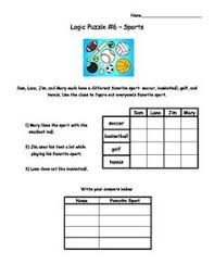 Logic puzzles promote critical thinking  This set of   logic grid puzzles come in
