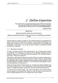 personal branding training course materials skills converged workbook 1
