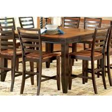 table sizes standard dining room size fine greyson living acacia two tone counter height dining set