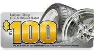 @ Discount Tire Direct Free $75/ $100 gift card w/ 4 select tires or ...