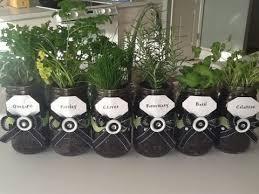 diy build a mason jar herb garden build diy mason