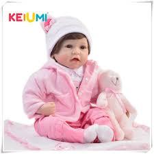 <b>KEIUMI 22</b> Inch Reborn Girl Alive Doll <b>Soft</b> Vinyl <b>55 Cm</b> Handmade ...