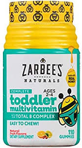 Zarbee's Naturals <b>Complete Toddler Multivitamin</b> With Our <b>total</b> b ...