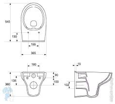 <b>Унитаз подвесной Cersanit NATURE</b> Clean On (545х365х360 ...