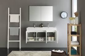 mezzo black modern bathroom cabinet