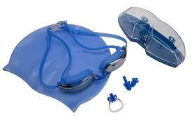 """Набор для <b>плавания</b> """"<b>Bradex</b>"""": шапочка + очки + зажим для носа + ..."""