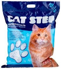 Впитывающий <b>наполнитель Cat</b> Step <b>Силикагелевый</b> 15,2 л ...