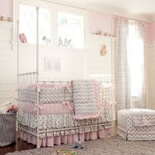 baby girl pink and gray chevron crib bedding shopping for baby girl crib bedding bedroom baby girls bedroom furniture