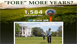 Saying that President Obama plays golf isn't racist, it's the truth.