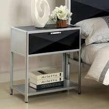 Night Tables For Bedroom Glass Night Stands