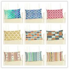 Cushions <b>Fashion Geometry</b> Style Cushion Cover Cotton Linen Sofa ...