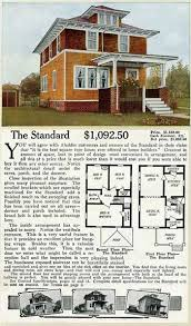 images about I LOVE The American Foursquare on Pinterest    Shirtwaist foursquare house   quot The Standard quot  ALADDIN HOME PLANS